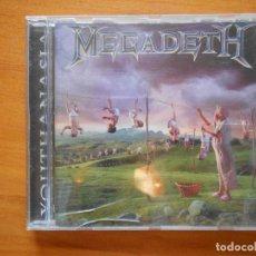 CDs de Música: CD MEGADETH - YOUTHANASIA (G9). Lote 94058825