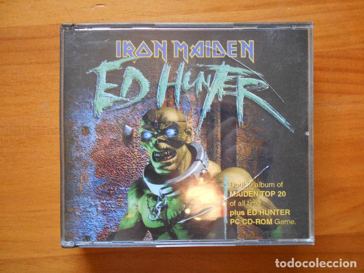 CD IRON MAIDEN - ED HUNTER - 2 DISCOS Y JUEGO CD-ROM PC (H9) (Música - CD's Heavy Metal)