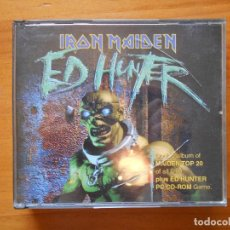 CDs de Música: CD IRON MAIDEN - ED HUNTER - 2 DISCOS Y JUEGO CD-ROM PC (H9). Lote 94065245