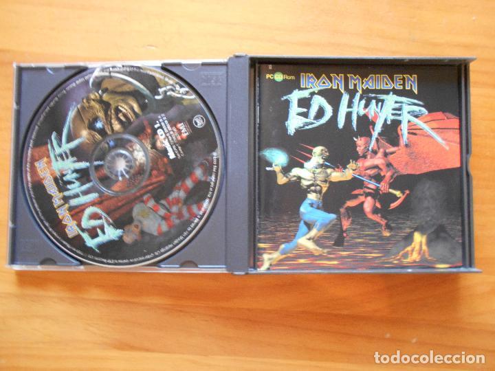 CDs de Música: CD IRON MAIDEN - ED HUNTER - 2 DISCOS Y JUEGO CD-ROM PC (H9) - Foto 2 - 94065245