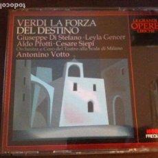 CDs de Música: VERDI LA FORZA DEL DESTINO. Lote 94069730