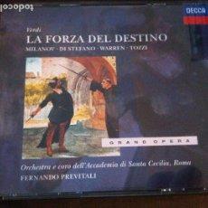CDs de Música: VERDI LA FORZA DEL DESTINO. Lote 94069855