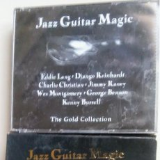 CDs de Música: DOBLE CD JAZZ GUITAR MAGIC THE GOLD COLLECTION. Lote 94086865