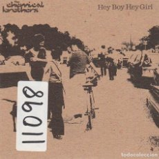 CDs de Música: THE CHEMICAL BROTHERS / HEY BOY HEY GIRL (CD SINGLE CARTON PROMO 1999). Lote 94116175
