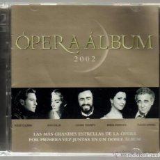CDs de Música: OPERA ALBUM - CD DOBLE CON 37 TEMAS . Lote 94132615