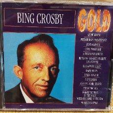 CDs de Música: BING CROSBY GOLD. CD - 14 TEMAS / CALIDAD LUJO.. Lote 94178050