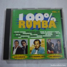 CDs de Música: 100% RUMBA VOL. 2 - CD 1994. Lote 94202205