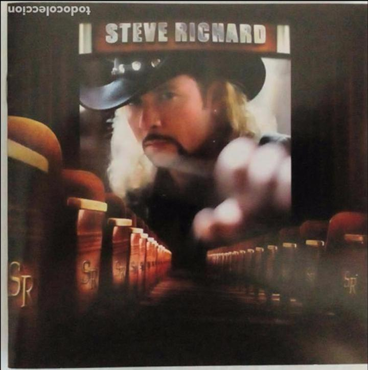 Steve Richard First Album Country Rock Force