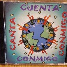 CDs de Música: CUENTA-CANTA CONMIGO. CD / 14 TEMAS / CALIDAD LUJO.. Lote 94254405