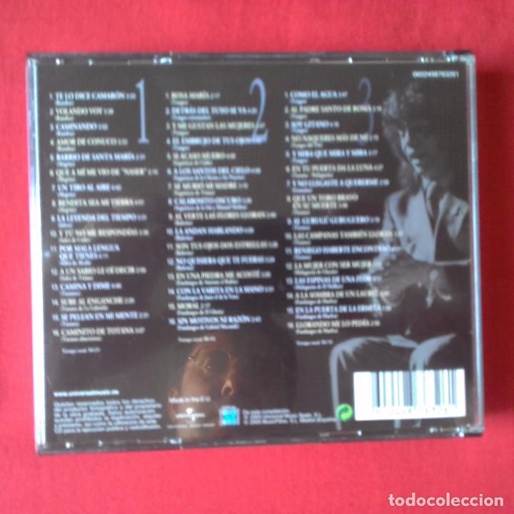 CDs de Música: CD CAMARON GRANDE ENTRE LOS GRANDES. 3 CDS, UNIVERSAL MUSIC 2005 - Foto 2 - 94255450