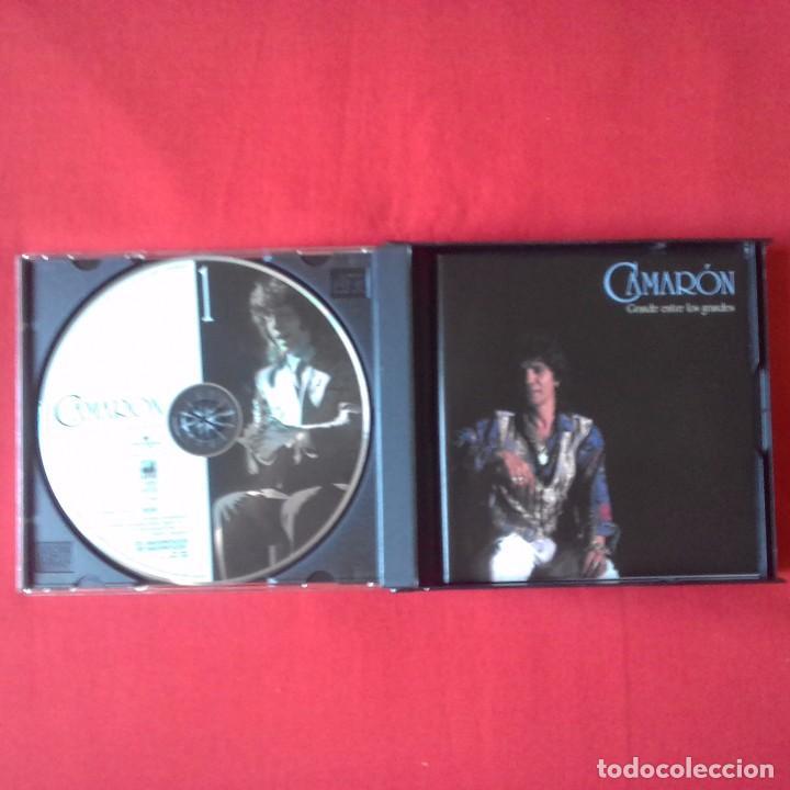 CDs de Música: CD CAMARON GRANDE ENTRE LOS GRANDES. 3 CDS, UNIVERSAL MUSIC 2005 - Foto 3 - 94255450