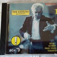 CDs de Música: 47-CD VON KARAJAN, INEDITO, TIEMPO 1. Lote 94345874