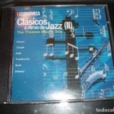 CDs de Música: CD CLASICOS A RITMO DE JAZZ. Lote 94346526