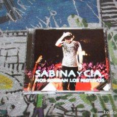 CDs de Música: JOAQUÍN SABINA - SABINA Y CIA. - NOS SOBRAN LOS MOTIVOS - 2 CD'S - ARIOLA, BMG ESPAÑA - 74321 811322. Lote 55553042