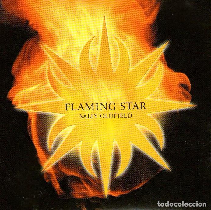 SALLY OLDFIELD - FLAMING STAR - CD ALBUM - 8 TRACKS - NEW WORLD MUSIC 2001 (Música - CD's New age)