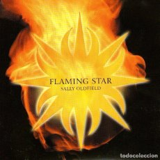 CDs de Música: SALLY OLDFIELD - FLAMING STAR - CD ALBUM - 8 TRACKS - NEW WORLD MUSIC 2001. Lote 113916658