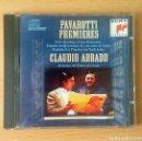 CDs de Música: CD - PAVAROTTI PREMIERES - GIUSEPPE VERDI - SONY CLASSICAL - 1996. Lote 94409930
