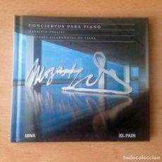 CDs de Música: CD - MOZART - 250 ANIVERSARIO - CONCIERTOS PARA PIANO - EL PAIS - 2005. Lote 94410654