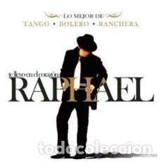 CDs de Música: RAPHAEL : TE LLEVO EN EL CORAZON ( DIGIPACK CON 3 CD´S : TANGO, BOLERO Y RANCHERA. Lote 94469258