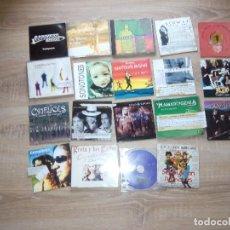 CDs de Música: ENEMIGOS-ELECTRICA DHARMA-CIELO CENIZA-MALLORY-MCLAN-ENRIQUE URQUIJO & PROBLEMAS 17 CD SINGLE 1 CD . Lote 94485366