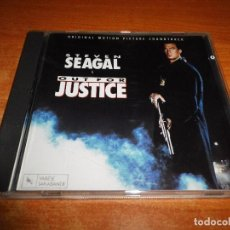 CDs de Música: OUT FOR JUSTICE BANDA SONORA CD 1991 VARESE WEST GERMANY GREG ALLMAN COOL J.T. STEVEN SEAGAL RARO. Lote 94505118