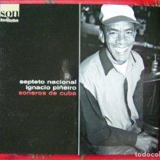 CDs de Música: SEPTETO NACIONAL IGNACIO PIÑEIRO.SONEROS DE CUBA. Lote 94517754