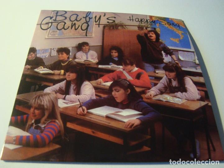 RAR SINGLE CD  BABY'S GANG  HAPPY SONG  ITALO DISCO