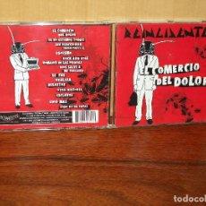 CDs de Música: REINCIDENTES - EL COMERCIO DEL DOLOR - CD. Lote 260835240