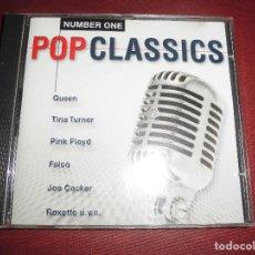 CDs de Música: CD POP CLASSICS NUMBER ONE. Lote 94601111