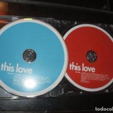CDs de Música: CD THIS LOVE,2 CDS. Lote 94624955