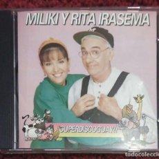 CDs de Música: MILIKI Y RITA IRASEMA (SUPERDISCOGUAY!!) CD 1992 * MUY DIFICIL DE CONSEGUIR EN CD. Lote 120964475