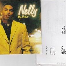 CDs de Música: NELLY / MY PLACE (CD SINGLE CARTON PROMO 2004) CON HOJA DISCOGRAFICA. Lote 94704987