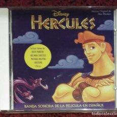 CDs de Música: B.S.O. HERCULES (BANDA SONORA ORIGINAL EN ESPAÑOL) CD 1997 WALT DISNEY - RICKY MARTIN. Lote 123778440