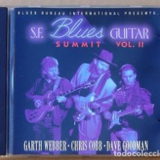 CDs de Música: S.F. BLUES GUITAR SUMMIT VOL.2 - CARTH WEBBER, CHRIS COBB, DAVE GOODMAN (CD) 1993 - 10 TEMAS. Lote 94762239
