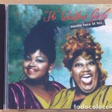 CDs de Música: THE WEATHER GIRLS - DOUBLE TONS OF FUN (CD) 1993 - 12 TEMAS. Lote 94763227