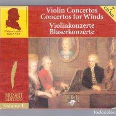 CDs de Musique: MOZART - VIOLIN CONCERTOS (7CD BOX, BRILLANT CLASSICS 99713, VOLUME 1). Lote 94779171
