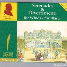 CDs de Musique: MOZART - SERENADES & DIVERTIMENTI FOR WINDS (7CD BOX, BRILLANT CLASSICS 99716, VOLUME 3). Lote 94780023