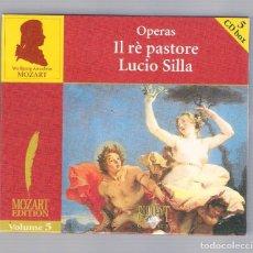 CDs de Música: MOZART - OPERAS: IL RÈ PASTORE, LUCIO SILLA (5CD BOX, BRILLANT CLASSICS 99717, VOLUME 5). Lote 94781591