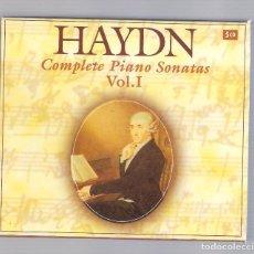 CDs de Musique: HAYDN - COMPLETE PIANO SONATAS VOL.I (5CD BOX, BRILLANT CLASSICS 99556). Lote 94781955