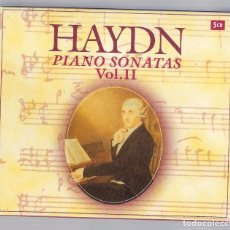 CDs de Musique: HAYDN - COMPLETE PIANO SONATAS VOL.II (5CD BOX, BRILLANT CLASSICS 99746). Lote 94782311