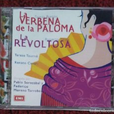CDs de Música: LA VERBENA DE LA PALOMA / LA REVOLTOSA (TOMÁS BRETÓN - RUPERTO CHAPI) CD 2000. Lote 94869015
