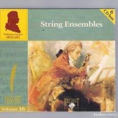 CDs de Musique: MOZART - STRING ENSEMBLES (6CD BOX, BRILLANT CLASSICS 99727, VOLUME 16). Lote 94923563