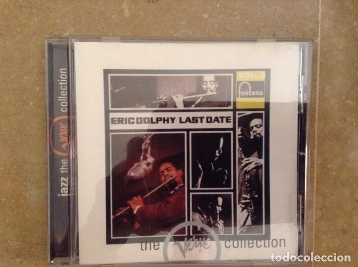 ERIC DOLPHY - LAST DATE - THE VERVE COLLECTION (Música - CD's Jazz, Blues, Soul y Gospel)