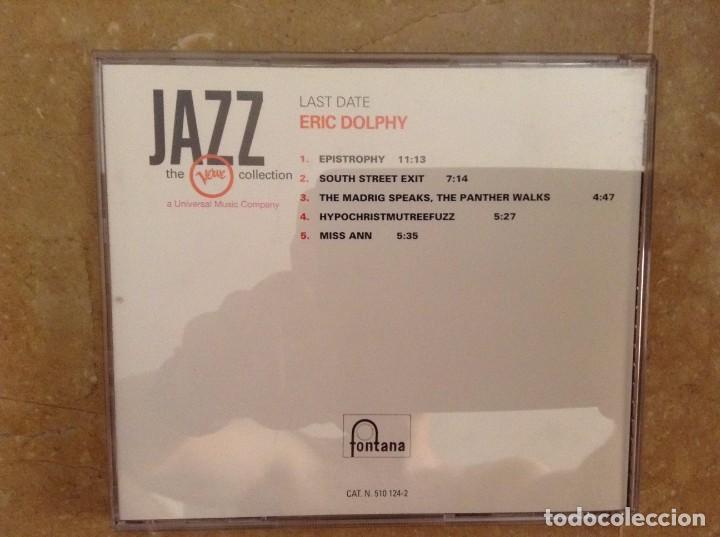 CDs de Música: ERIC DOLPHY - LAST DATE - THE VERVE COLLECTION - Foto 2 - 94935495