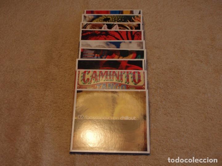 COLECCION CHILLOUT DE 9 CDS BOSSANOVA-TANGO-FLAMENCO-REGGAE-BUDDHA'S-AFRO-ASIAN-IDIAN-MEDITERRANEAN (Música - CD's World Music)