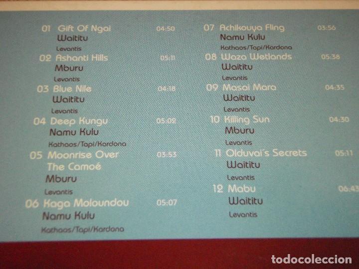 CDs de Música: COLECCION CHILLOUT DE 9 CDS BOSSANOVA-TANGO-FLAMENCO-REGGAE-BUDDHA'S-AFRO-ASIAN-IDIAN-MEDITERRANEAN - Foto 13 - 94954339
