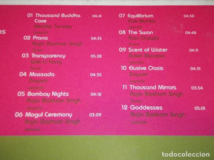 CDs de Música: COLECCION CHILLOUT DE 9 CDS BOSSANOVA-TANGO-FLAMENCO-REGGAE-BUDDHA'S-AFRO-ASIAN-IDIAN-MEDITERRANEAN - Foto 15 - 94954339