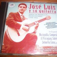 CDs de Música: CD DE JOSE LUIS Y SU GUITARRA. TODOS SUS PRIMEROS EPS. EDICION DE 1998. D.. Lote 94956487