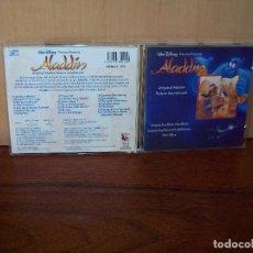 CDs de Música: ALADDIN - WALT DISNEY -MUSICA DE ALAN MENKEN - CD BANDA SONORA ORIGINAL BSO. Lote 94978091