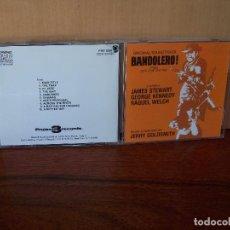 CDs de Música: BANDOLERO - MUSICA DE JERRY GOLDSMITH - CD BANDA SONORA ORIGINAL BSO 1989. Lote 94981603